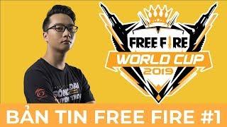 WAG Nhận 1 Tỷ Tại Thái Lan? - Bản Tin Free Fire World Cup 2019  Số 1