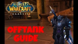 5 Tips & Tricks For OFFTANKING Raids - Classic WoW