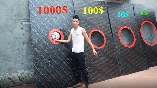 PHD | Thử Thách Sút Bóng Nhận Quà | FOOTBALL CHALLENGE