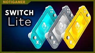 NINTENDO SWITCH LITE !!!  DATOS  OFICIALES  ❗  😮 |  Notigamer - Jugamer