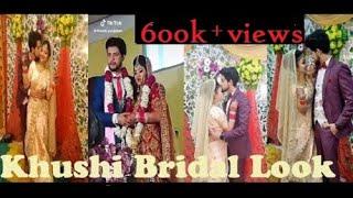 Khushi Punjaban Bride look Video || Khushi Punjabi Vivek Chaodhry