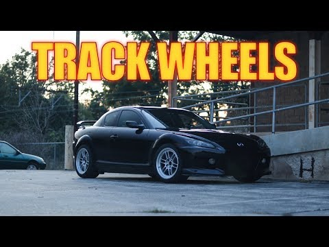 BEST Mazda RX8 Wheels and Tires for the TRACK