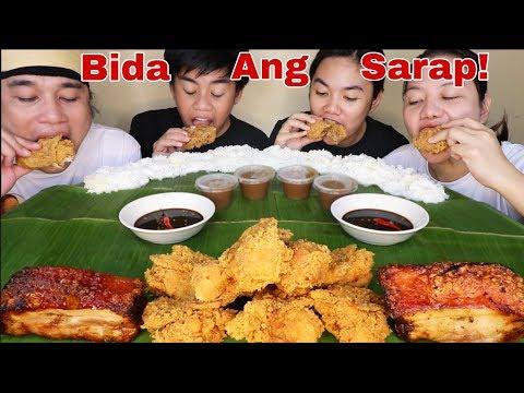 1 Bucket Jollibee Chicken Joy,Lechon Liempo Baliwag Pinoy Mukbang!