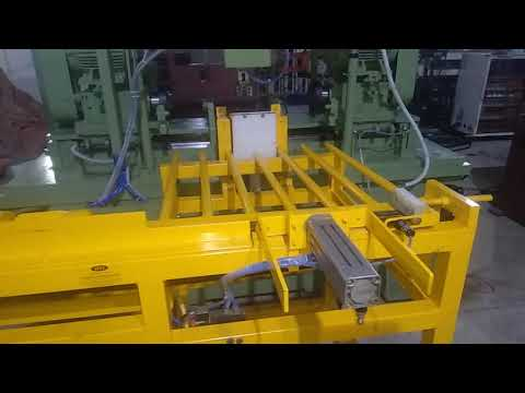 Twin Head Auto Pipe Chamfering Machine