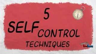 5 Self Control Techniques