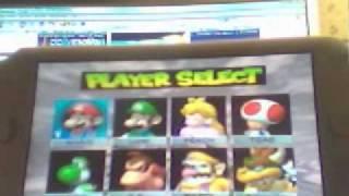 PSP: Emulation N64 (Mario Kart 64) - R11 Daedalus