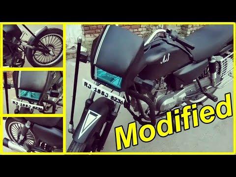 Modified splendor Bike Video |Best Modified Bike |ATWorld