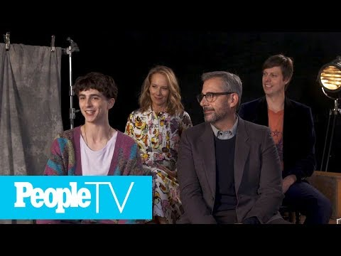 Timothee Chalamet Freaked Out About Working With Steve Carell & Amy Ryan | TIFF 2018 | PeopleTV
