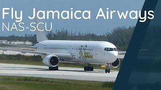 Fly Jamaica Airways 767-300ER | Landing & Boarding in Nassau