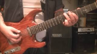 How to play Big Gun by ACDC - GUITAR LESSON by Mike Gross - Tutorial