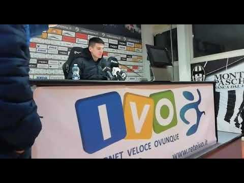 Buschiazzo in Robur Siena-Ternana 0-1 - Coppa Italia