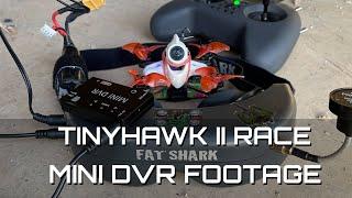 Footage of Mini DVR connected to my Fatshark. Feat Tinyhawk II Race! Enjoy FPV. Bando Salinas,