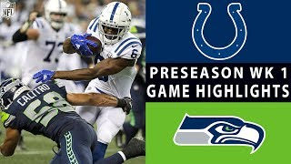 Colts vs. Seahawks Highlights   NFL 2018 Preseason Week 1