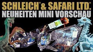 Schleich ® & Safari ® Neuheiten Mini Vorschau 2018 - mein erster Eindruck