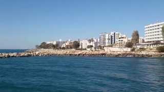 preview picture of video 'Кипр, Лимассол, Гермасойя - обзор побережья'