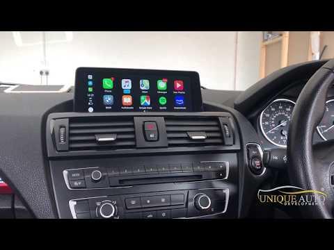 Wireless Apple CarPlay Sat Nav Navigation Retrofit for BMW