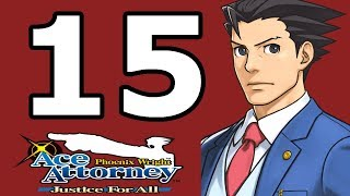 Phoenix Wright Ace Attorney: Justice for All Walkthrough Part 15 - No Commentary Playthrough (3DS)