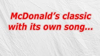 McDonald's Classic With Its Own Song (CodyCross Crossword Answer)