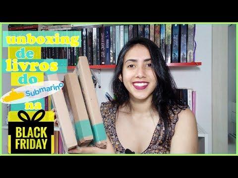 ? UNBOXING | Black Friday | PROMOÇÃO SUBMARINO | Leticia Ferfer | Livro Livro Meu