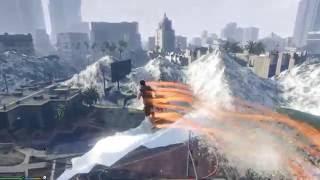 GTA 5 Mod #16 - Sóng Thần Xuất Hiện, Ngày Tận Thế Đã Đến (29/7) ?