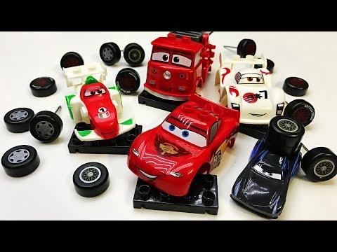 Disney Cars 3 Jackson storm | LEGO DUPLO CARS 2 TOYS | Lightning McQueen DISNEY PIXAR CARS