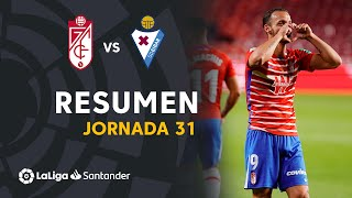Resumen de Granada CF vs SD Eibar (4-1)