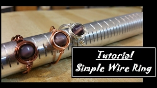 Simple Wire Ring Tutorial