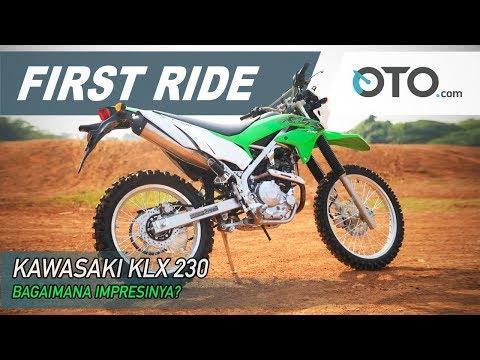 Kawasaki KLX 230 | First Ride | Bagaimana Impresinya? | OTO com