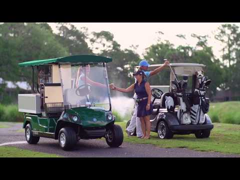 2018 Yamaha Fairway Lounge (Gas EFI) in Shawnee, Oklahoma - Video 1