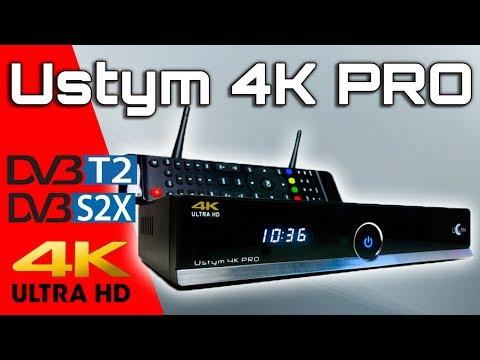 Новинка uClan Ustym 4K PRO первый обзор DVB-S2X/T2/C ресивера