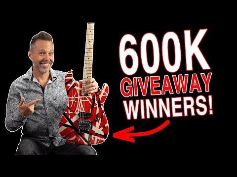 600K Giveaway Winners!