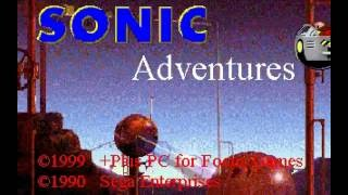 'Sonic Adventures' fangame playthrough