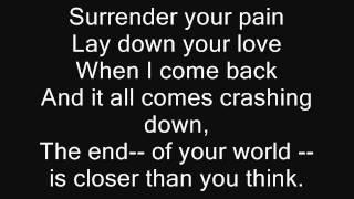Dogwood- comes crashing with lyrics