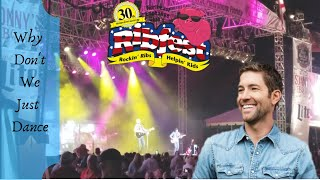 Josh Turner Why Dont We Just Dance live at Ribfest 30th Anniversary in St. Petersburg, Florida