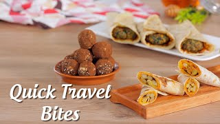 Healthy Energy Balls, Palak Roll And Aloo Roll
