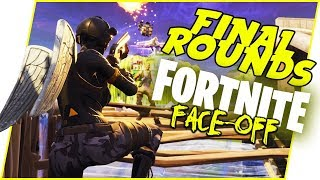 The WORST Way To Get Eliminated From The Tourney! - Fortnite Faceoff #1 | Final Rounds