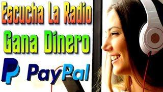💥 Dinero GRATIS Para PayPal Escuchando La Radio 📻 [ Tengo Dinero ]