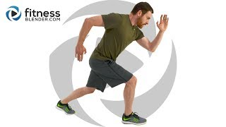 Intense At Home Pyramid HIIT Workout with Warm Up & Cool Down by FitnessBlender