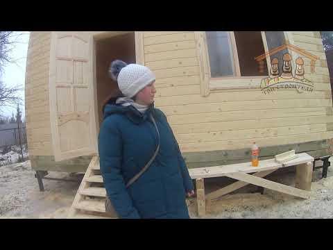 Папурина Н.С. - видеоотзыв о строительстве