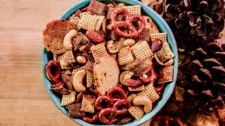 Traeger Smoked Chex Party Mix Recipe   Traeger Grills