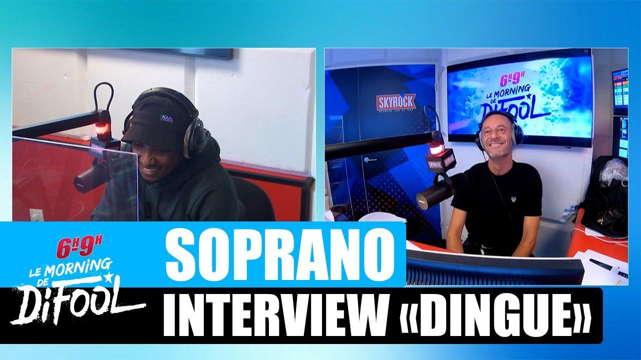 """Soprano - Interview """"Dingue"""" #MorningDeDifool"""