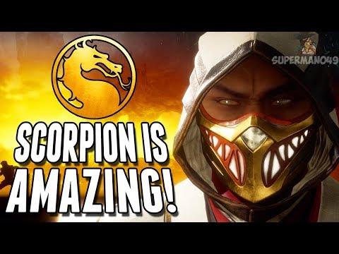 "Scorpion Is AMAZING! - Mortal Kombat 11 ""Scorpion"" Gameplay"