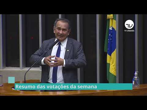 Resumo do Plenário - Veja as votações da semana - 15/10/21