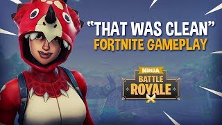 """That Was So Clean!"" - Fortnite Battle Royale Gameplay - Ninja & Hysteria"