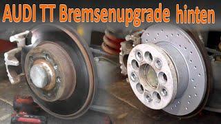 Audi TT 8N gelochte Bremsen hinten Upgrade