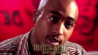 2PAC (TUPAC) breaks down BLACK ON BLACK violence