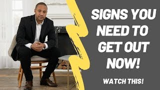 Signs Your Marriage Is Over And Not Worth Fighting For | Signs You Need To Get Out NOW!