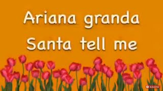 Puppy girls video of Santa tell me by Ariana Grande