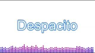 Despacito - Lyric Video - Luis Fonsi & Daddy Yankee ft. Justin Bieber