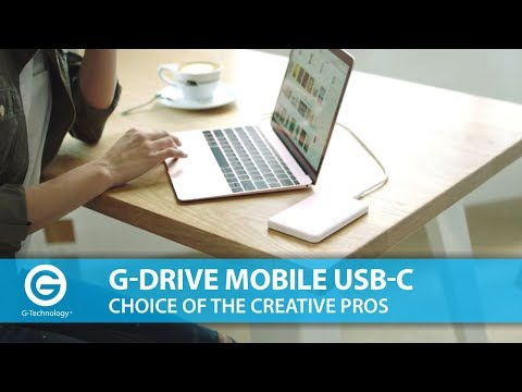 G-Technology | Why Creative Pros rely on G-DRIVE Mobile USB-C